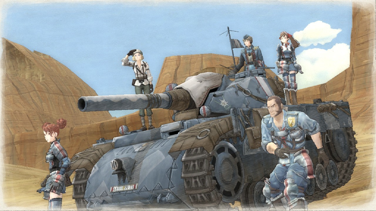 "New ""Valkyria Chronicles Remastered"" Trailer Confirms Release Date"