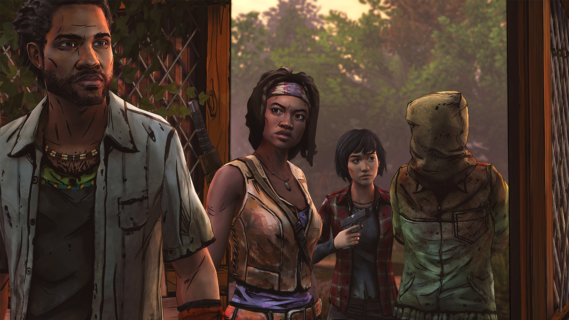 "Last Episode of ""The Walking Dead: Michonne"" Revealed - How Will Michonne's End? That's (Mostly) Up to You"