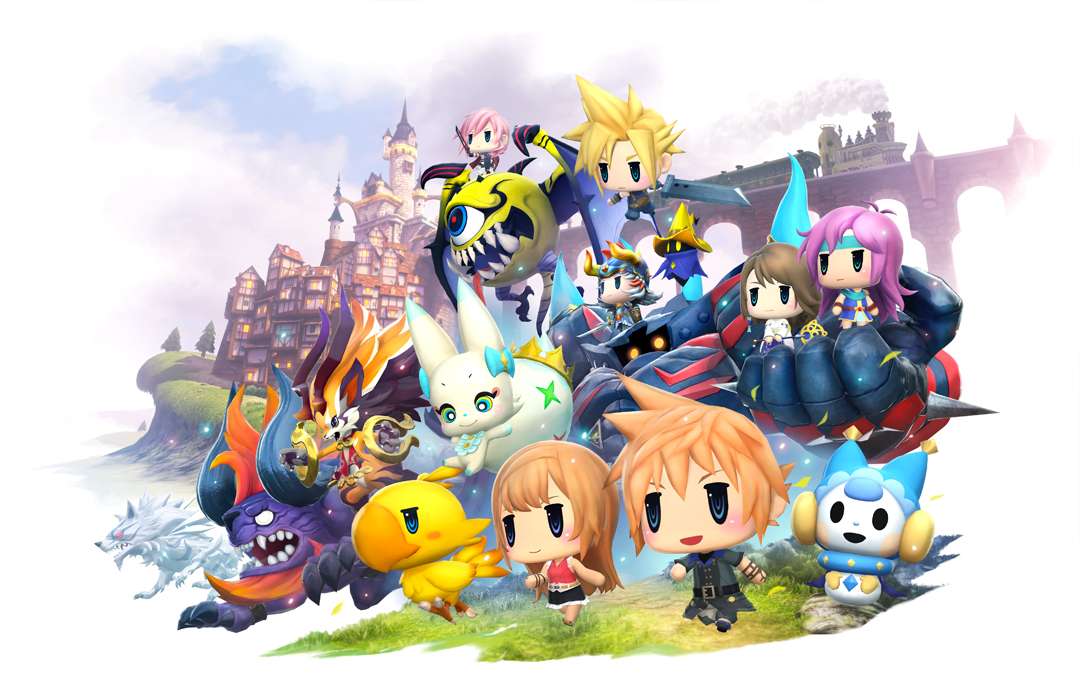 """World of Final Fantasy"" Coming This Fall - Square Enix Releases New Trailer Along With Release Date"