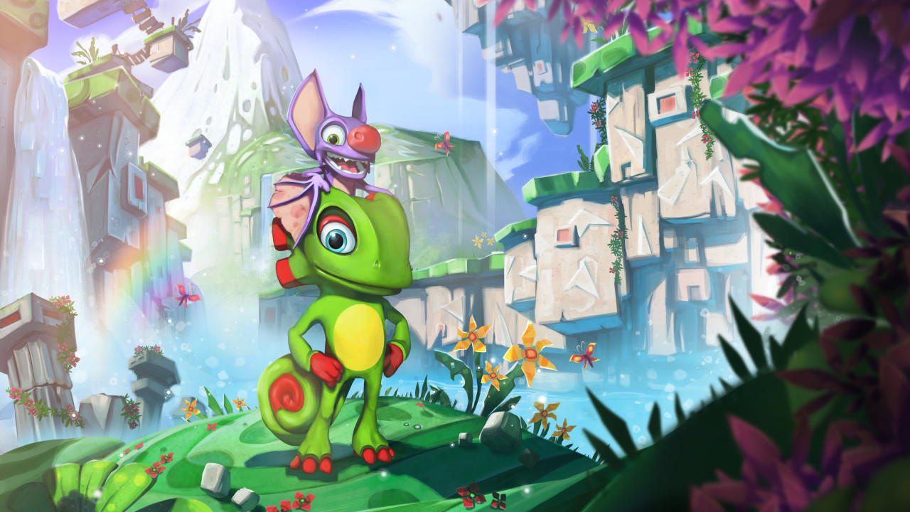 """Yooka-Laylee"" Officially Revealed - Yooka Is the Chameleon and Laylee Is the Bat"