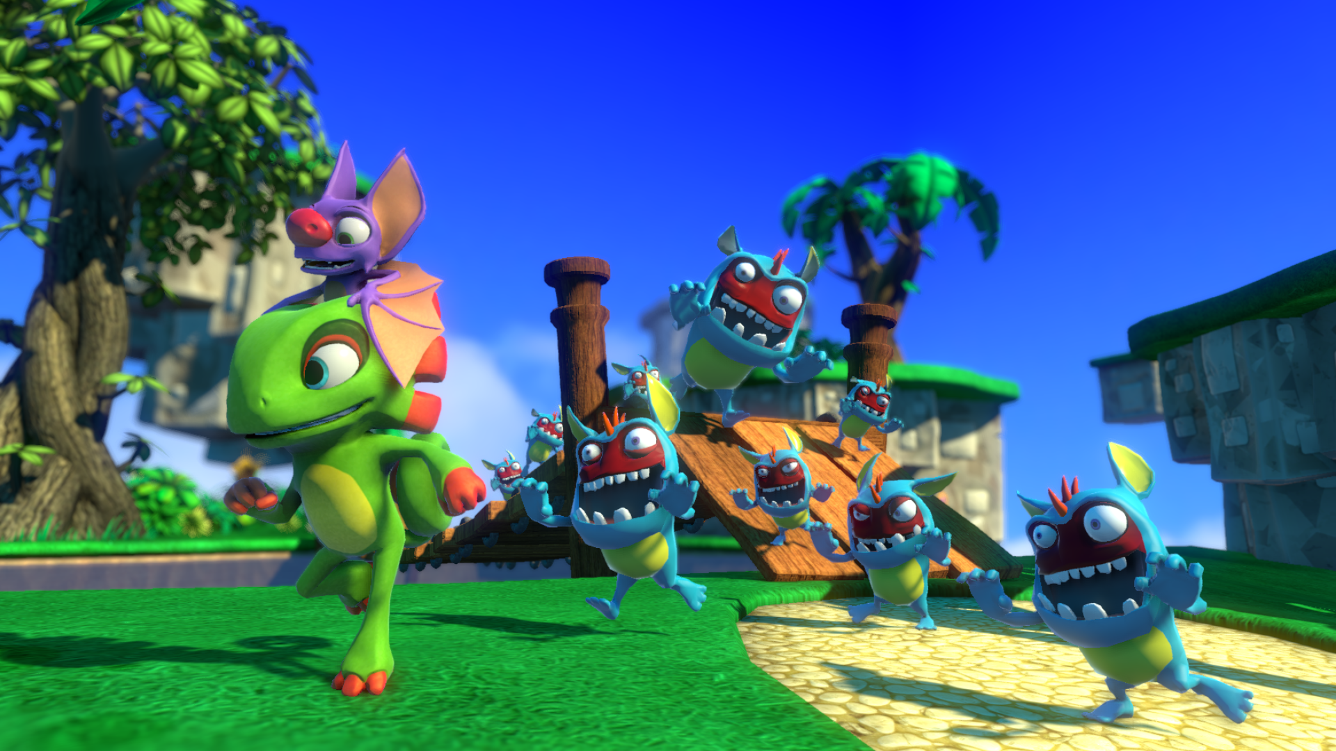 """Yooka-Laylee"" Now Set for 2017 Release - Also Has Silly Jab at"