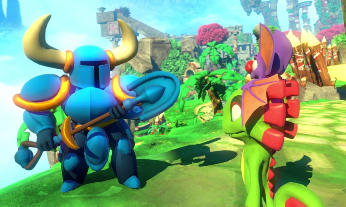 "Shovel Knight Joins ""Yooka-Laylee"" - For Shoverly!"