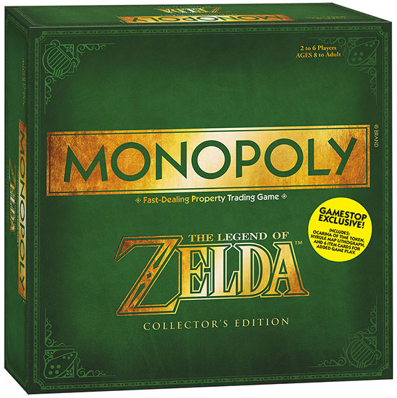 Monopoly: Legend of Zelda Collector's Edition