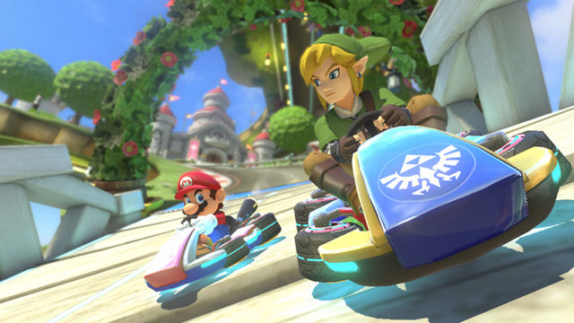 """The Legend of Zelda X Mario Kart 8"" DLC - Starring Link and the Blue Falcon"