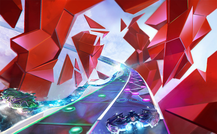 """Amplitude"" Flies onto Shelves Jan. 5 - Successful Kickstarter Campaign Rejuvinates Harmonix's Rhythm-Based IP"
