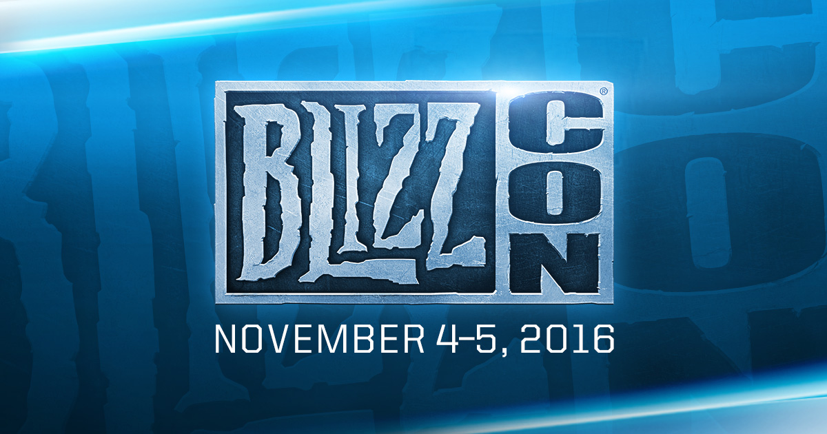 BlizzCon 2016: Opening Ceremony - Nov. 4, 2016: 11 AM PDT