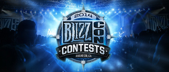 BlizzCon 2014: Contests - Nov. 7 at 6 P.M. PDT