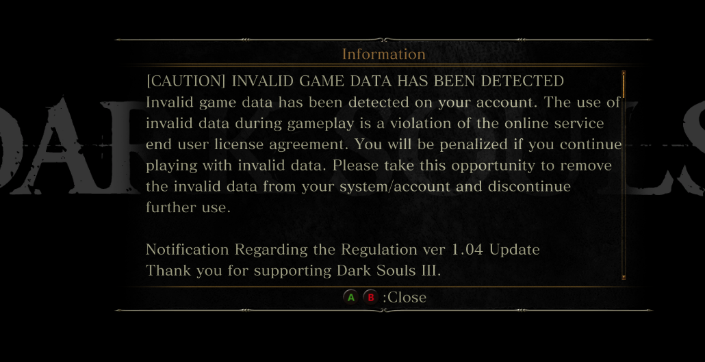 """Dark Souls 3"" Players Caught in Ban Wave"