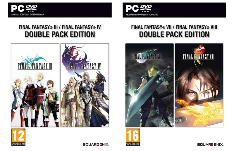 """Final Fantasy VII"" & More Getting Physical PC Releases"
