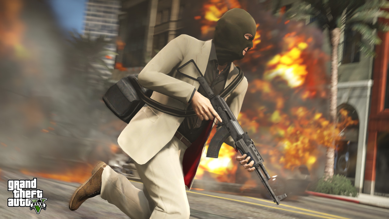 "Rockstar Releases Official ""Grand Theft Auto V"" Trailer - Uh... again"
