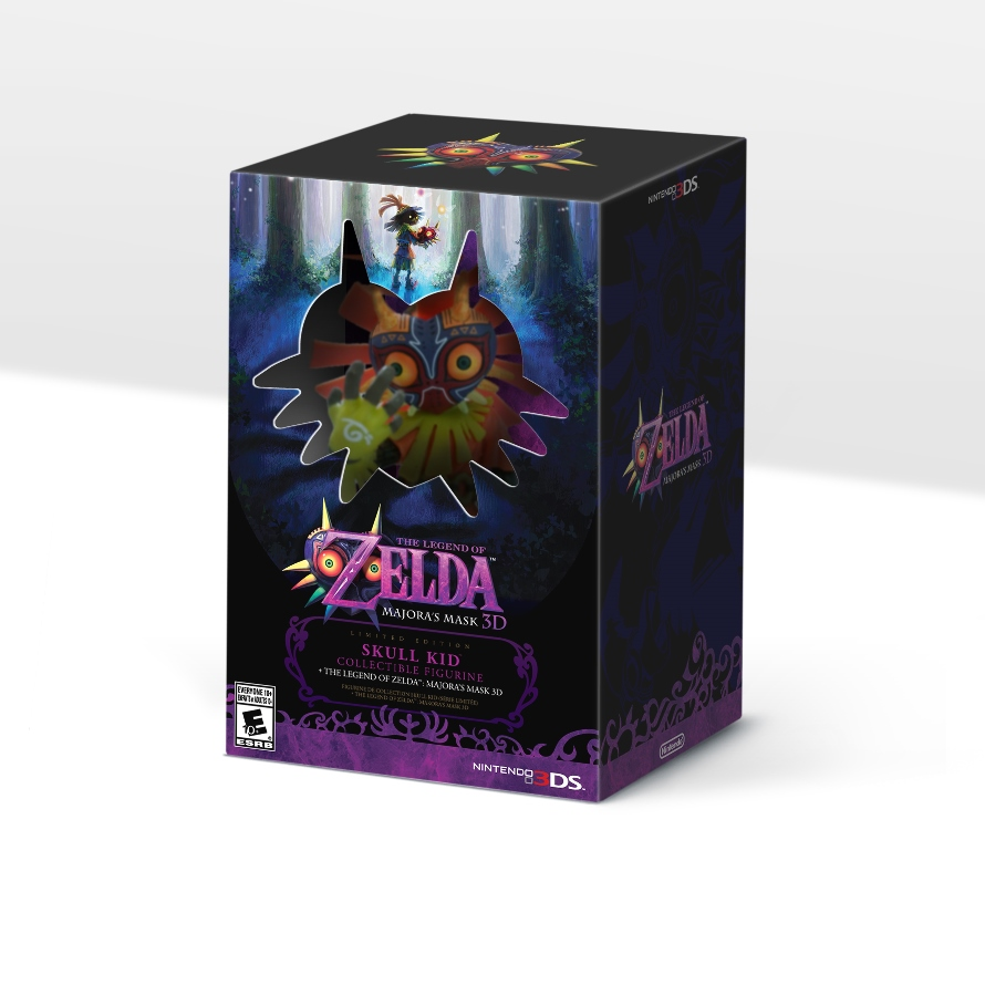 """Majora's Mask 3D"" Special North America Edition Revealed - Includes a Special Skull Kid Figurine"