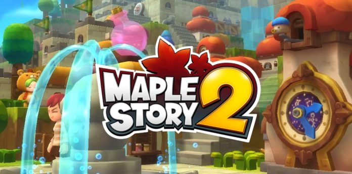 """MapleStory 2"" Closed Beta Arrives May 9 - Except South Korea, Who Received the Game in 2015"