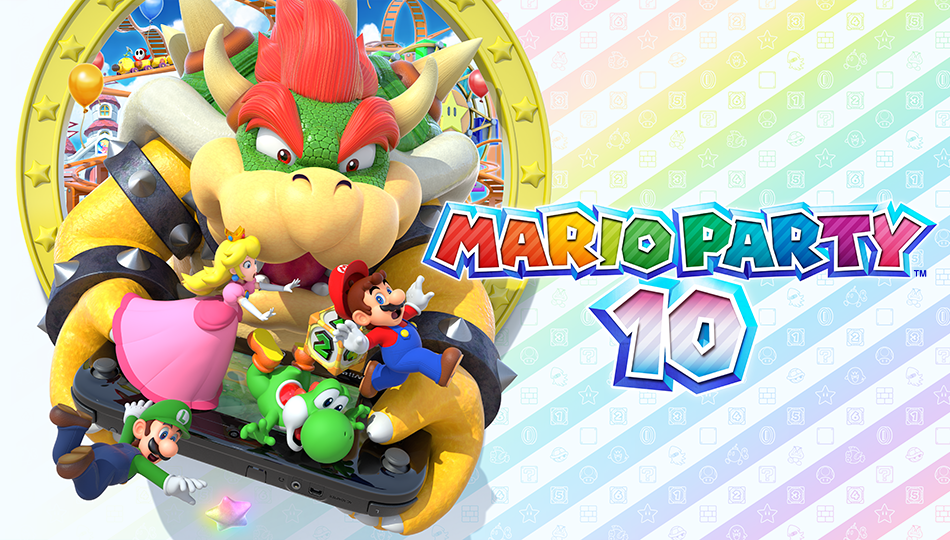 """Mario Party 10"" for Wii U - Transform Three of Your Closest Friends into Your Worst Enemies"