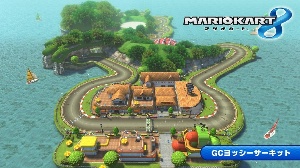 "Yoshi's Circuit Returns in ""Mario Kart 8"" -"