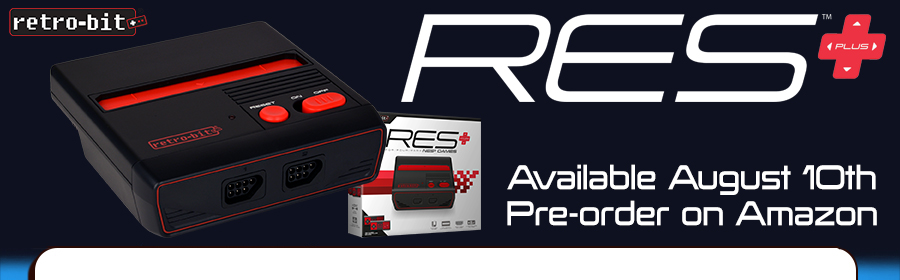 Retro-Bit Announces New RES Plus Console - Will Release on August 10