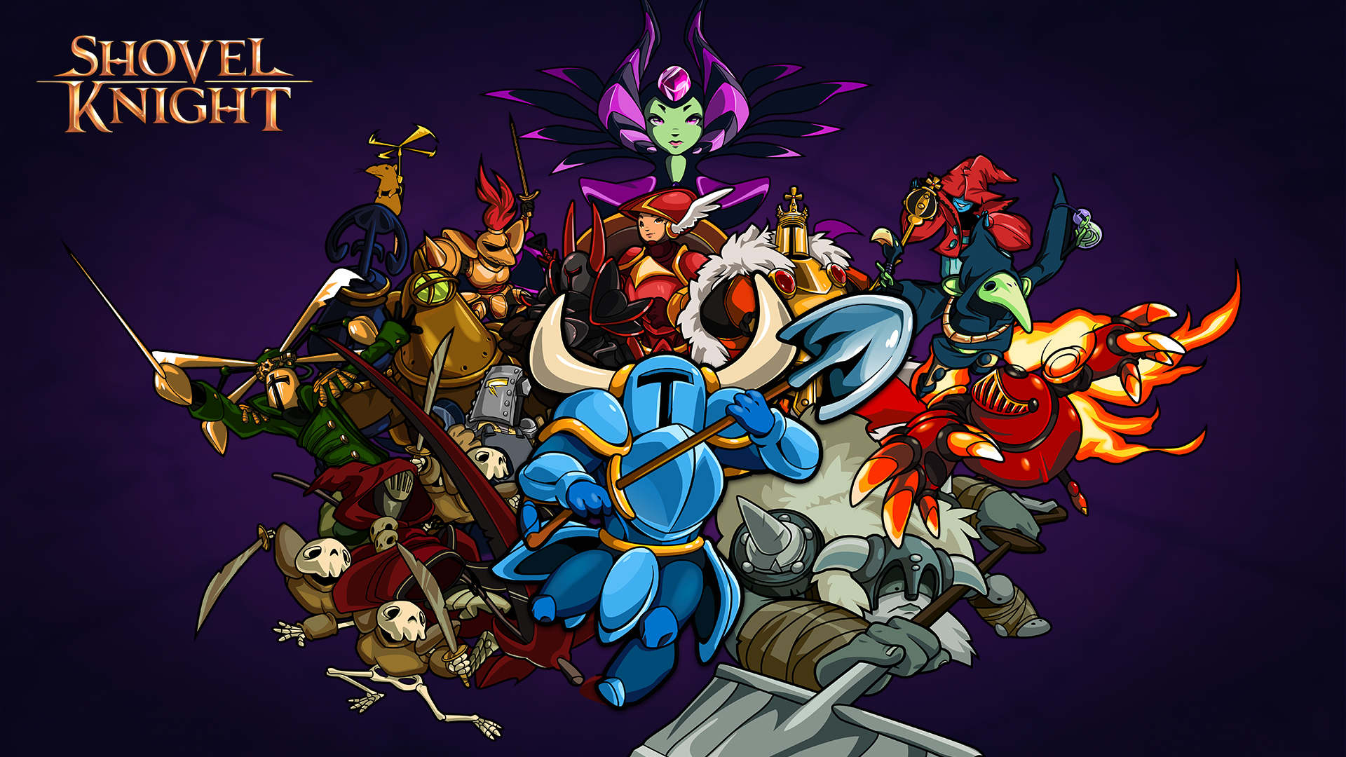 """Shovel Knight"" for PlayStation Coming April 21 - Prepare Your Shovel for a Fight with Kratos"