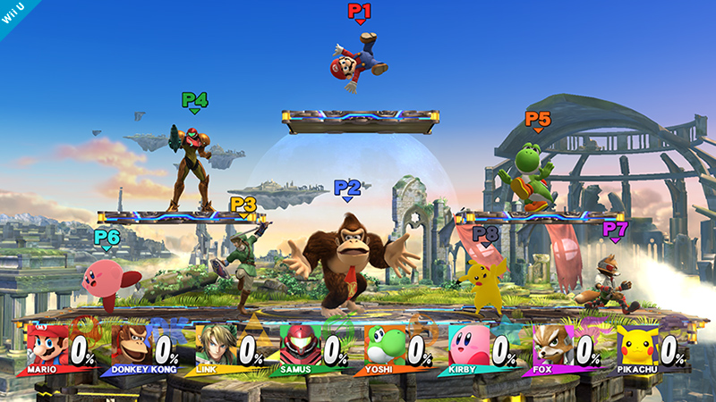 """Super Smash Bros."" Update Adds More 8-Player Smash Stages"