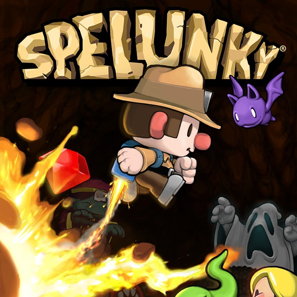 Digging in the Mines for Treasure with Spelunky World for PC - If you kill the shopkeeper, you're a terrorist
