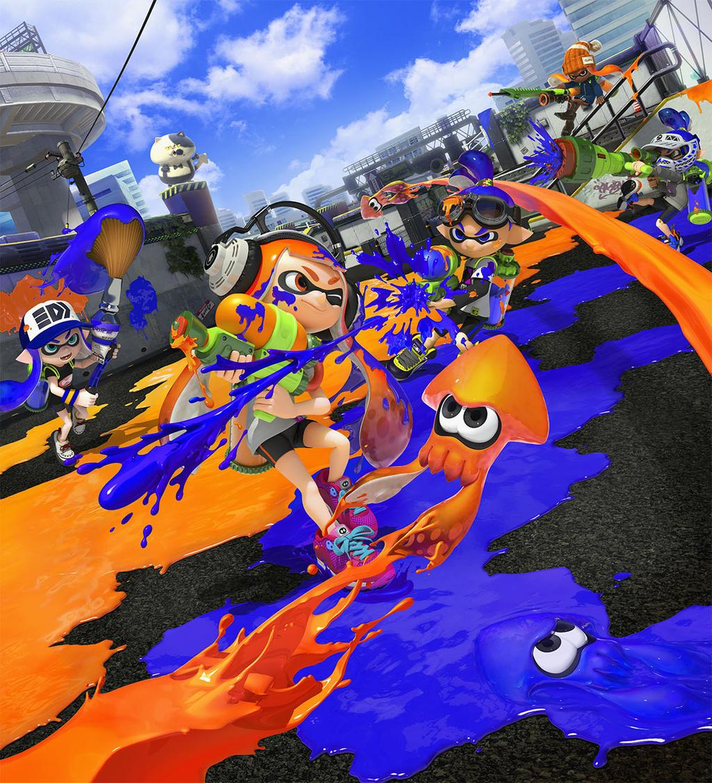"""Splatoon"" Nintendo Direct Information - Brought to You with the Squid Research Lab"