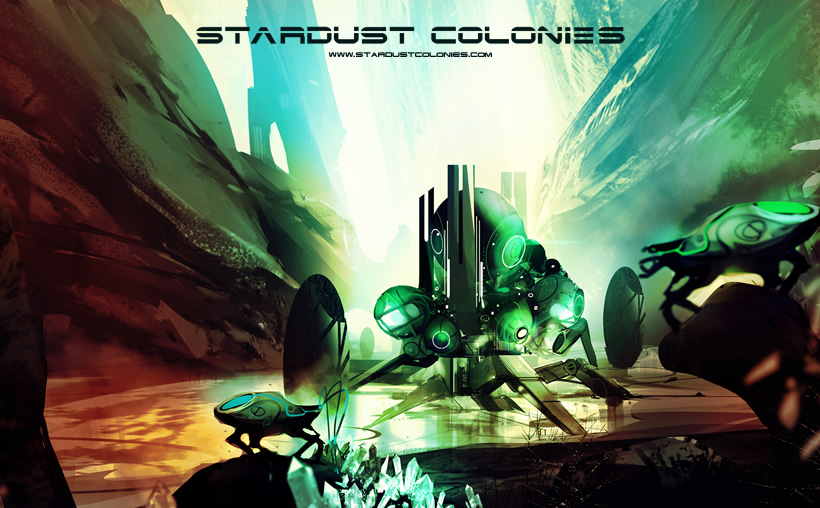 """Stardust Colonies"" Kickstarting - A Unique, AI-Driven RTS"