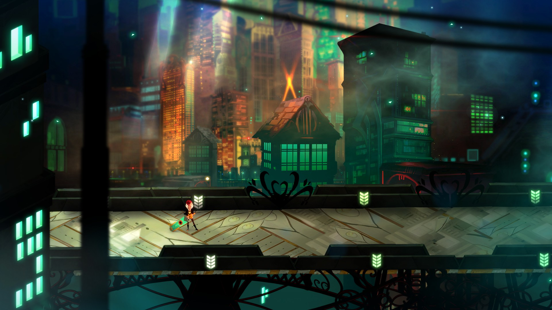 """Transistor"" - Dystopian RPG from the Makers of ""Bastion"""