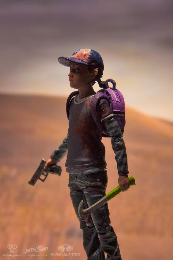 """The Walking Dead: Season Two's"" Clementine Gets Action Figure - The Action Figure with the Feels"