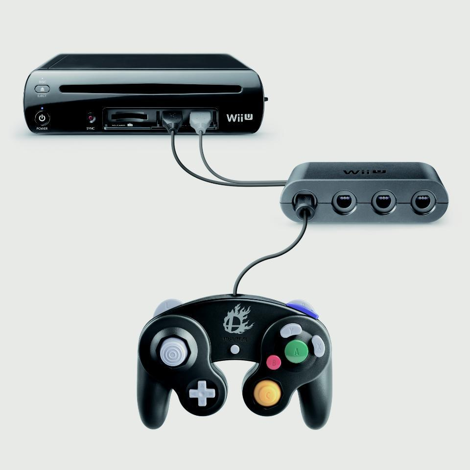 "Nintendo Announces Gamecube Controller Support for WiiU ""Smash Bros"" - Slam Into Your Best Friends Over and Over … Comfortably"