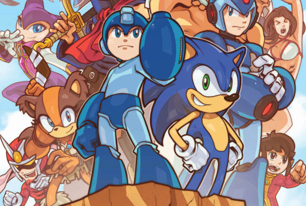 "Sega and Capcom Crossover Comic ""Worlds Unite"" Revealed - Sonic, Ryu, NiGHTS, Viewtiful Joe, and More"