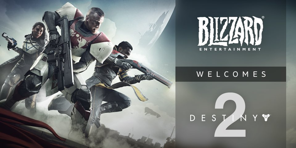 """Destiny 2"" Coming to Blizzard Launcher"